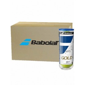 PELOTAS CAJON BABOLAT GOLD PET X3 - 24 BOTES -72 PELOTAS