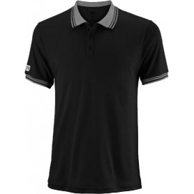 WILSON M TEAM POLO BK