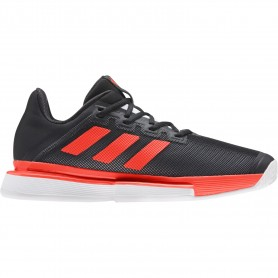 Adidas solematch bounce m black red
