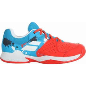 Babolat Pusion Clay JR Tomato Red