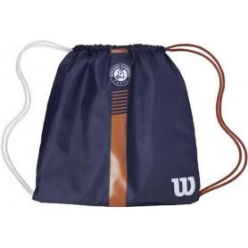 Wilson Roland Garros Cinch Bag Navy/Clay