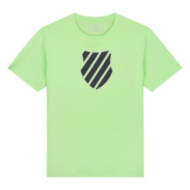 K-Swiss Camiseta Hypercourt Logo Green