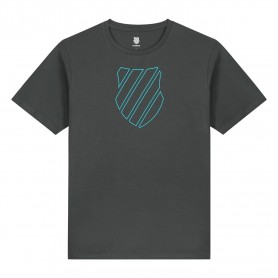 K-Swiss Camiseta Hypercourt Logo Dark Shadow