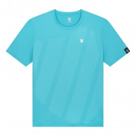 K-Swiss Camiseta Hypercourt Shield Crew Scuba Blue