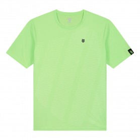 K-Swiss Camiseta Hypercourt Shield Crew Green