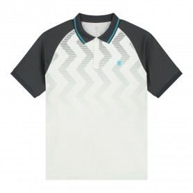 K-Swiss Polo Hypercourt Print Lunar Rock