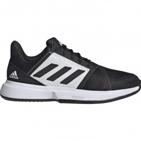 Adidas Courtjam Bounce M Clay Core Black Ftwr White Grey Thr