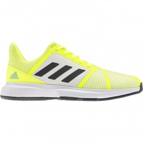 Adidas Courtjam Bounce M Solar Yellow Core Black Hazy S