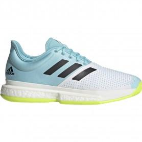 Adidas Solecourt M Primeblue Ftwr White Core Black Solar Ye