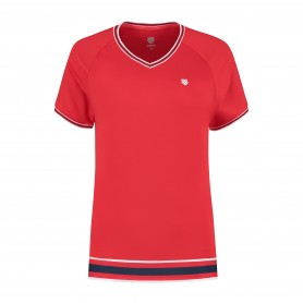 K-Swiss Camiseta Heritage Sport Red