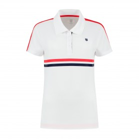 K-Swiss Polo Heritage Sport White