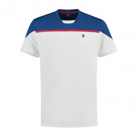 K-Swiss Camiseta Hypercourt Block Crew 2 White