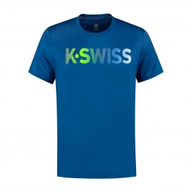 K-Swiss Camiseta Hypercourt K-Swiss Blue