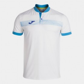 Joma Torneo Polo Blanco Azul