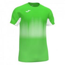 Joma Elite VII Camiseta Fluor Verde-Blanco