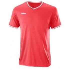 Wilson Camiseta Team Ii High V-Neck Coral