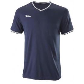 Wilson Camiseta Team Ii High V-Neck Team Azul Marino