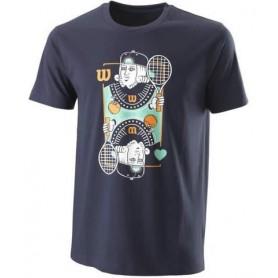 Wilson Camiseta King Tech Tee Azul