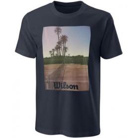 Wilson Camiseta Scenic Tech Tee Azul