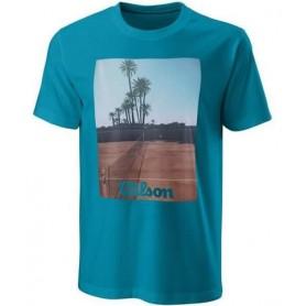Wilson Camiseta Scenic Tech Tee Royal