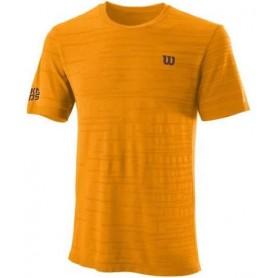 Wilson Camiseta Kaos Rapide Smls Crew Koi Naranja