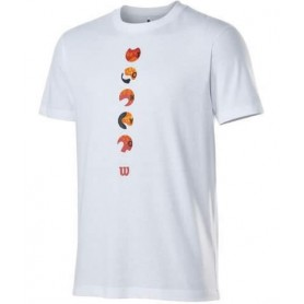 Wilson Camiseta Tokyo 2021 Tech Tee Blanco