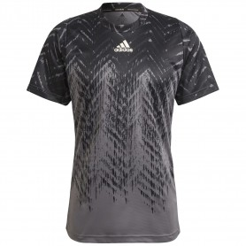 Adidas Camiseta Freelift Printed Primeblue Gris