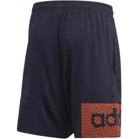 Adidas Pantalon Corto Designed To Move Primeblue Branded Azul