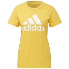 Camiseta Adidas Must Haves Badge Of Sport Mujer Amarillo