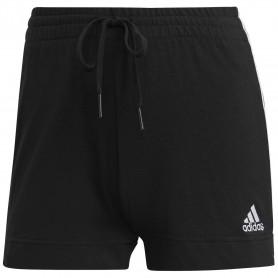 Pantalon Corto Adidas W 3S Sj Mujer Negro