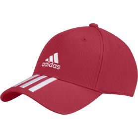 Adidas Gorra Bball 3S Ct Rojo