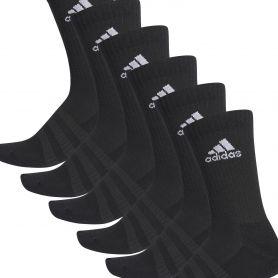 Adidas Calcetin Cush Crw 6Pp Negro