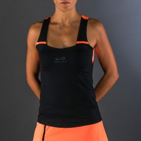 Camiseta Endless Peak Black Orange