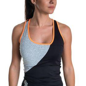 Camiseta Conjunto Bb Jelena Mujer Negro-Gris