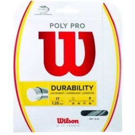 CORDAJES WILSON POLY PRO 17 SET
