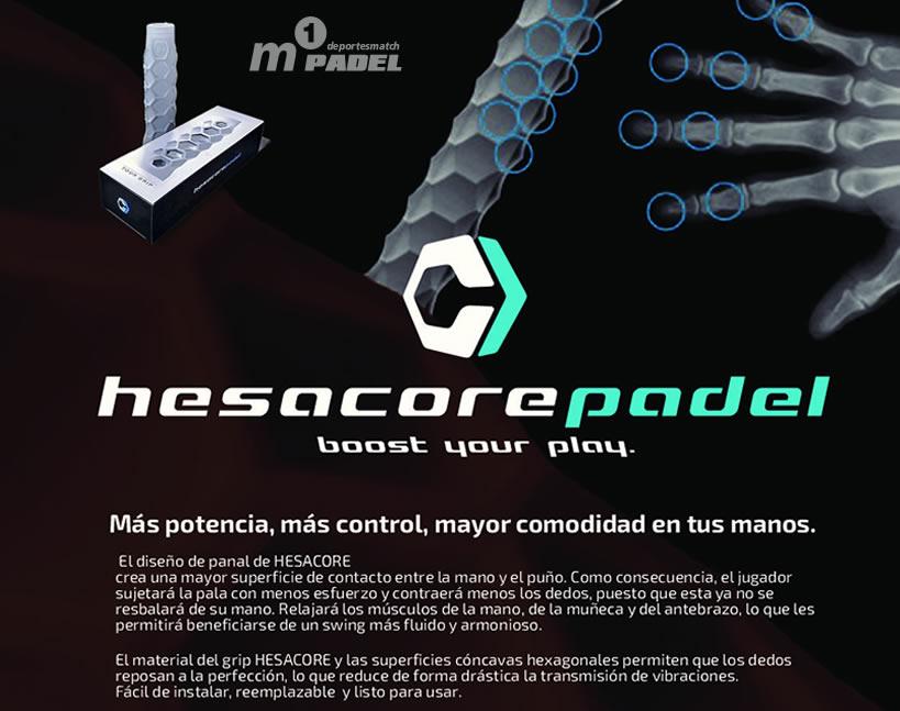 Vertex 3 Hesacore Grip
